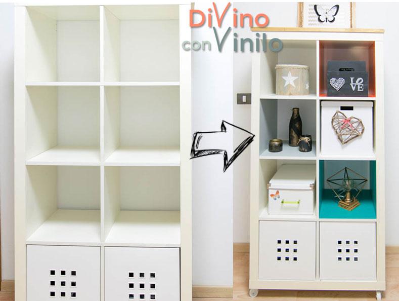 Forrar con vinilo adhesivo para personalizar el dormitorio for Vinilos armarios dormitorio