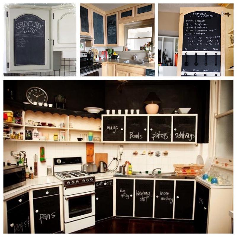 Forrar los armarios de la cocina con vinilo tendencias - Cocinas con vinilo ...