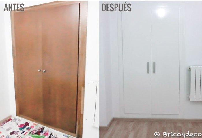 Armarios empotrados para entradas armarios con puerta de - Armarios de entrada ikea ...