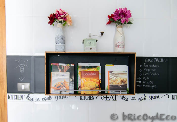 Frente cocina vinilo - Pizarras de cocina ...
