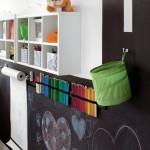 15 ideas para decorar con vinilo pizarra