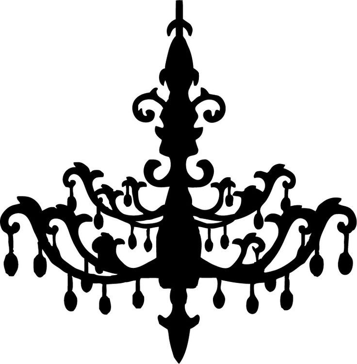 silueta lámpara vintage