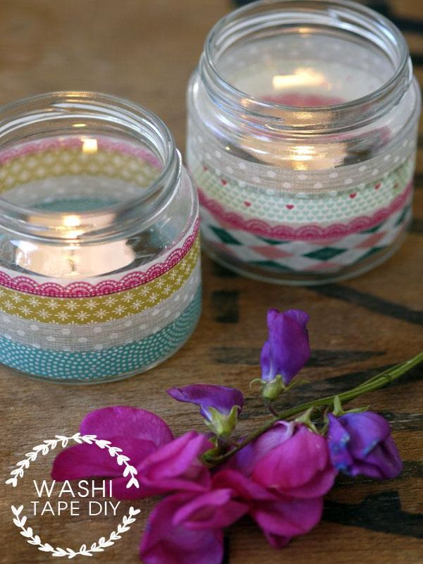 Reciclar con washi tape 25 ideas que te inspirar n - Como decorar con washi tape ...