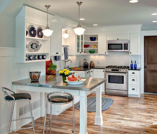 Renovar la cocina sin obras con vinilo efecto acero inoxidable for Renovar cocinas sin obras