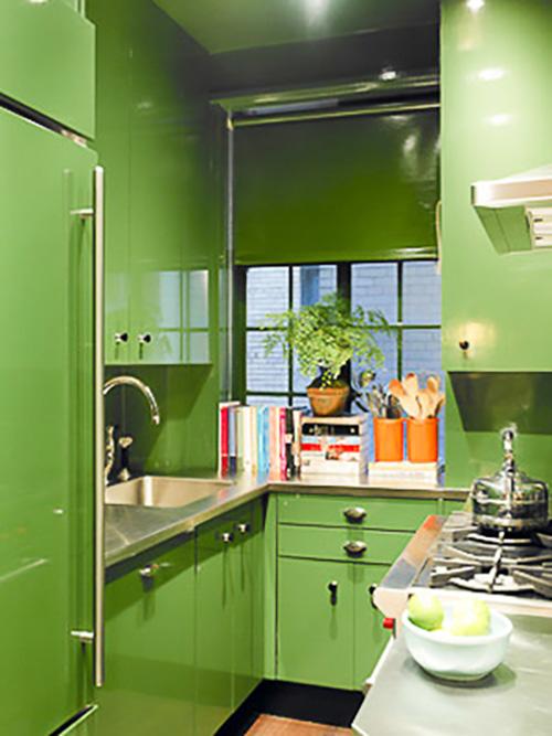 Renovar la cocina con vinilo greenery el color del 2017 de pantone - Cambiar cocina con vinilo ...