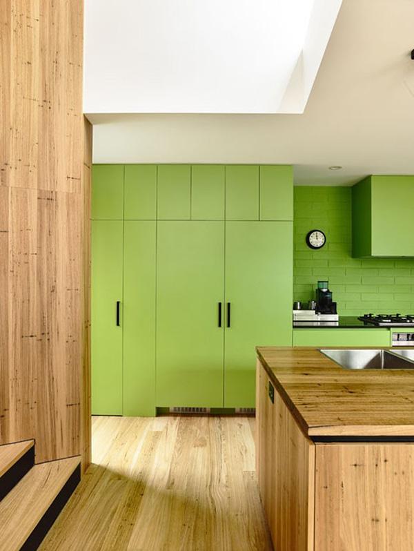 renueva la cocina con vinilo de color greenery el color del de pantone