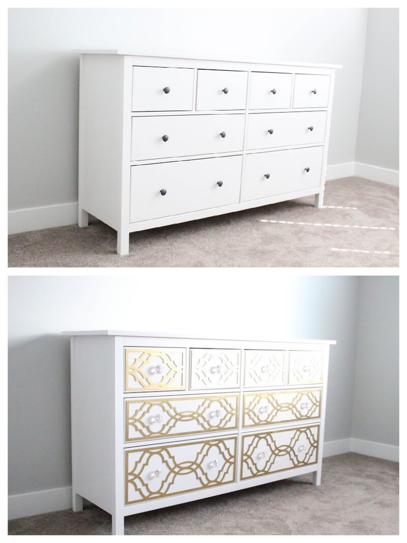 Ideas con muebles de ikea affordable increbles trucos - Vinilos nevera ikea ...