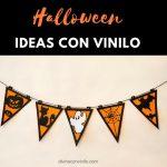 Ideas de decoración para Halloween con vinilo adhesivo